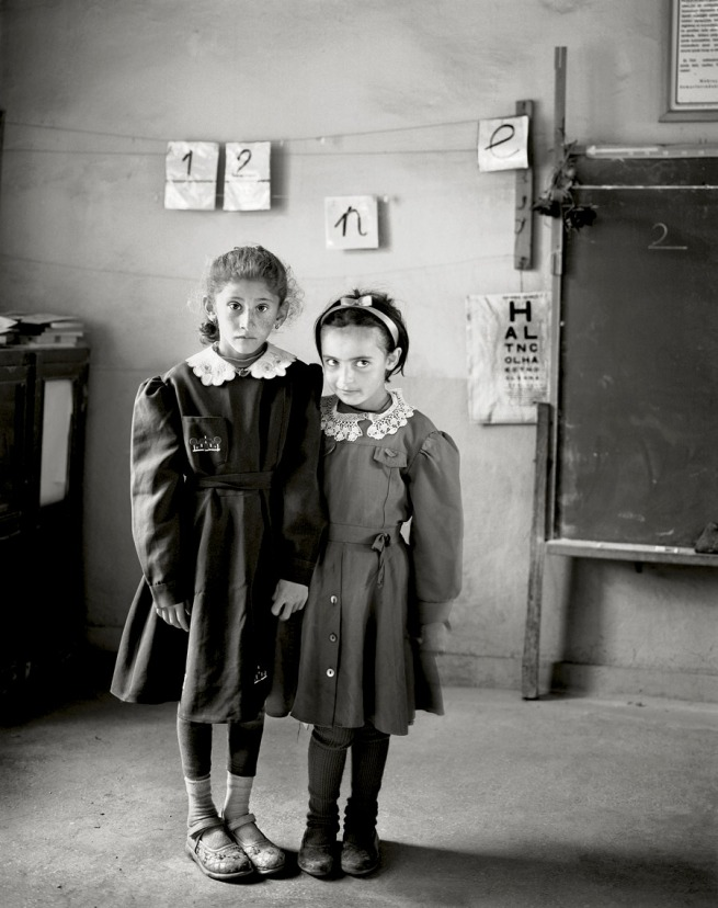 Vanessa Winship. 'Untitled' from the series 'Sweet Nothings: Schoolgirls of Eastern Anatolia' 2007 © Vanessa Winship