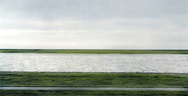 Andreas Gursky. 'The Rhine II' 1999