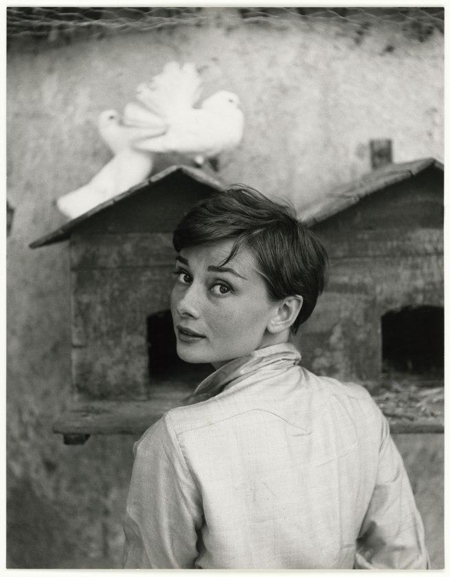 Philippe Halsman. 'Audrey Hepburn' 1955