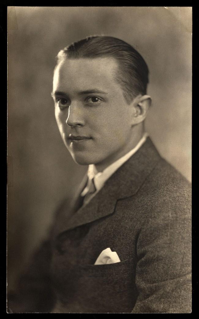 Unidentified Artist. 'Bix Beiderbecke' c. 1920