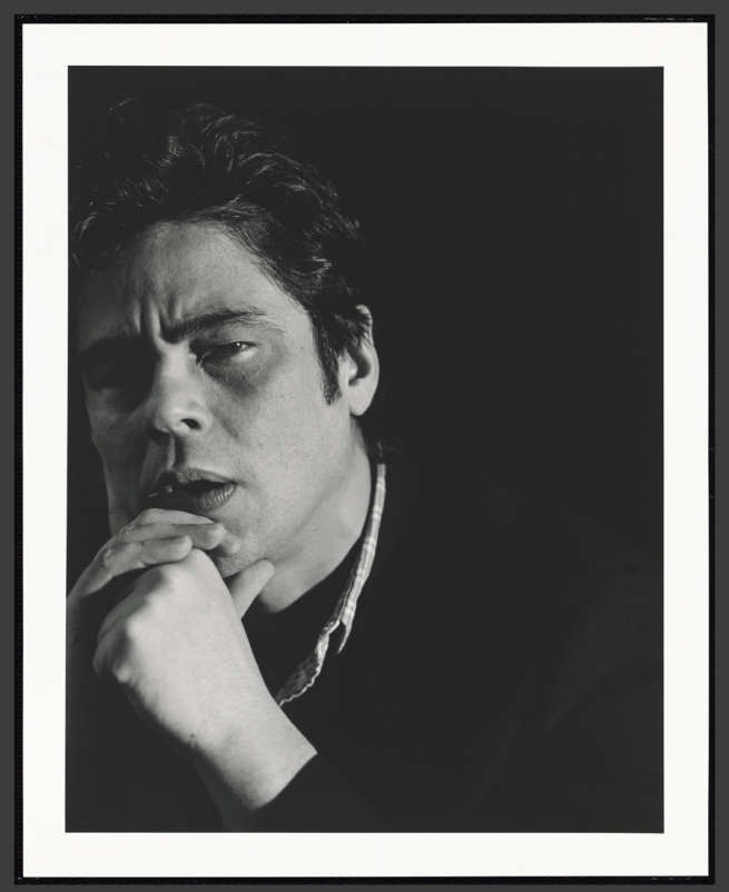 Cass Bird. 'Benicio Del Toro' 2008 (printed 2012)
