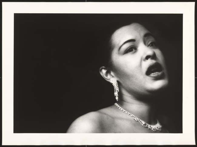 Bob Willoughby. 'Billie Holiday' 1951 (printed 1991)