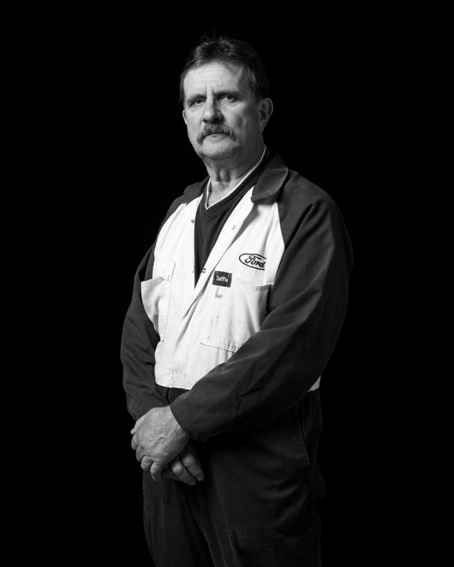 Cameron Clarke. 'Loui Nedeski, Ford Motor Company, Geelong' 2014