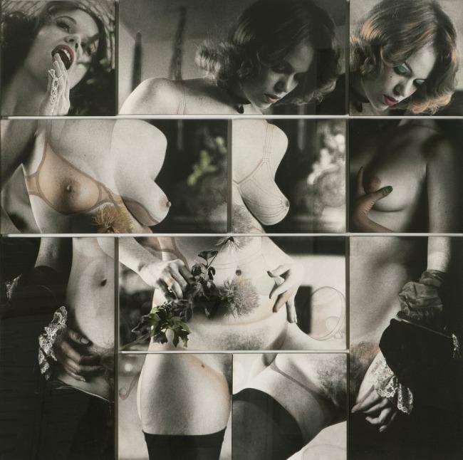 Robert Heinecken (American, 1931-2006) 'Cliche Vary / Autoeroticism' 1974