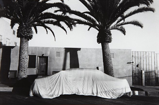 Robert Frank (American, born Zurich, 1924) 'Covered Car - Long Beach, California' 1955