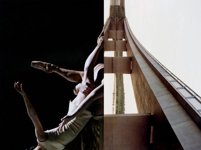 Zoë Croggon. 'John Holland Constructions, Ginninderra Bridge (after Wolfgang Sievers)' 2014