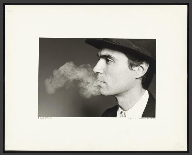 Marcia Resnick. 'David Byrne' 1981