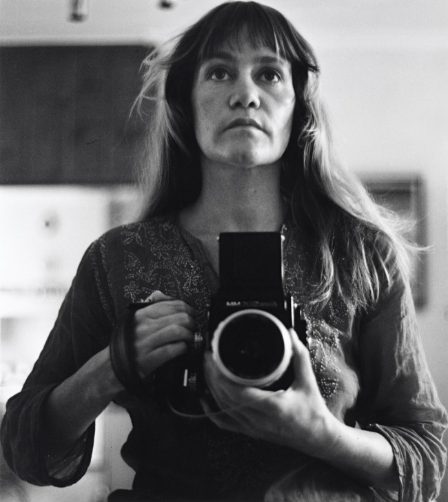 Sue Ford (Australia 1943-2009) 'Self-portrait 1974' 1974, printed 2011