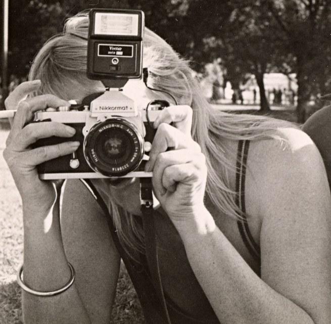 Sue Ford (Australia 1943-2009) 'Self-portrait 1986' 1986