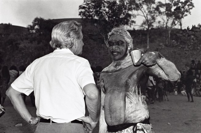 Sue Ford (Australia 1943-2009) 'Discussions between Bob Hawke and Galarrwuy Yunupingu' 1988, printed 2014