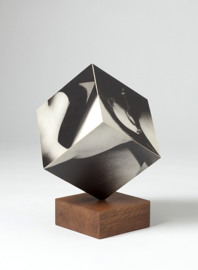 Robert Heinecken (American, 1931-2006) 'Figure Cube' 1965