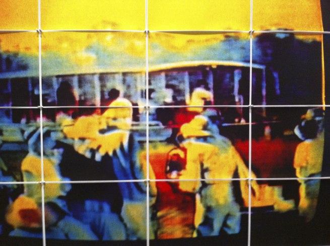Sue Ford (Australia 1943-2009) 'Video land (Kakadu river tour)' (detail) 1992-93