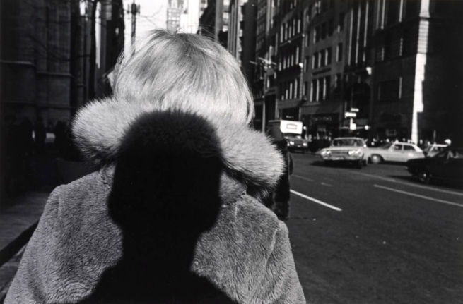 Lee Friedlander (American, born Aberdeen, Washington, 1934) 'Shadow, New York City' 1966, printed 1973