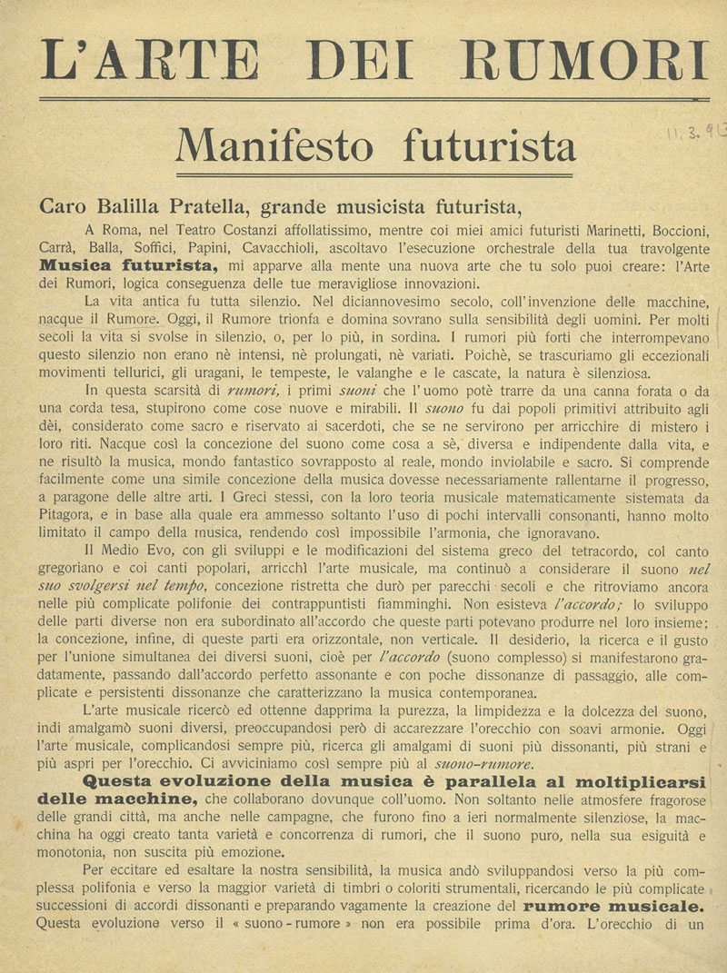 "the foundation and manifesto of futurism Fluxus manifesto i ""film culture no  from futurism to fluxus press release  joins new york fluxus foundation on developing innovative prefabricated mass."