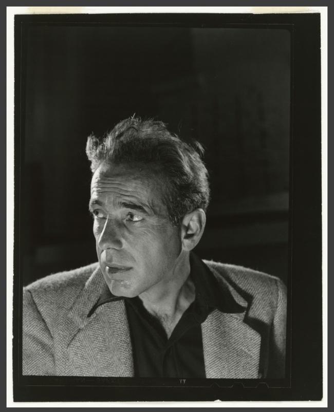 Philippe Halsman. 'Humphrey Bogart' 1944