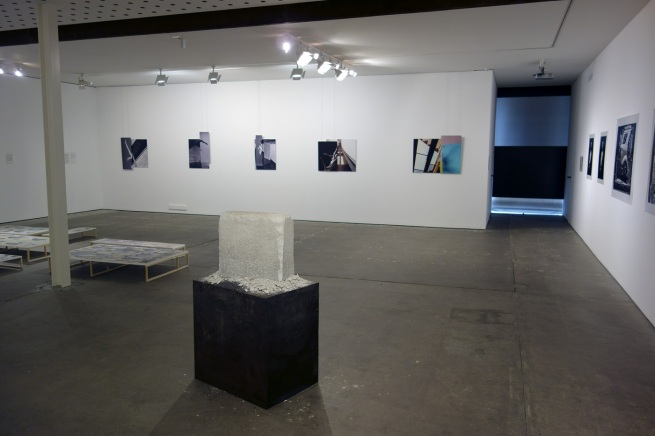 Installation photographs of the exhibition 'The Sievers Project' at the Centre for Contemporary Photography (CCP)