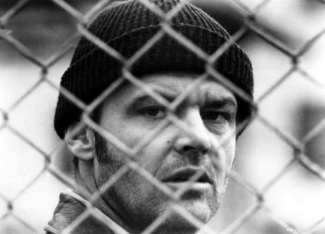 "Unidentified Artist. 'Jack Nicholson in ""One Flew Over the Cuckoo's Nest""' 1975"