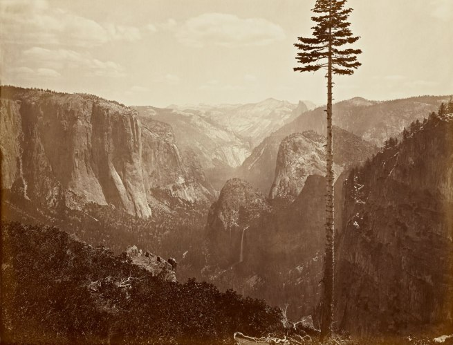 "Carleton Watkins (U.S.A., 1829-1916) 'The Yosemite Valley from the ""Best General View""' 1866"
