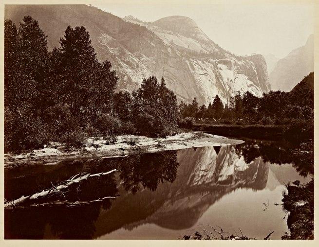 Carleton Watkins (U.S.A., 1829-1916) 'Mirror View of the North Dome, Yosemite' 1865-1866
