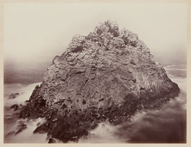 Carleton Watkins (U.S.A., 1829-1916) 'Sugar Loaf Islands and Seal Rocks, Farallons' 1868-1869