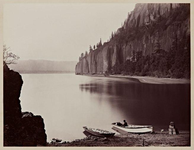Carleton Watkins (U.S.A., 1829-1916) 'Cape Horn, Columbia River' 1867