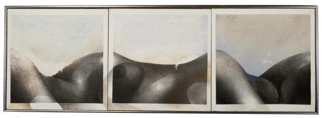 Robert Heinecken (American, 1931-2006) 'Le Voyeur / Robbe-Grillet #2' 1972