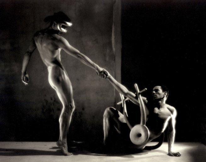 George Platt Lynes. 'Nicholas Magallanes and Francisco Moncion in Balachines's Orpheus II' 1948