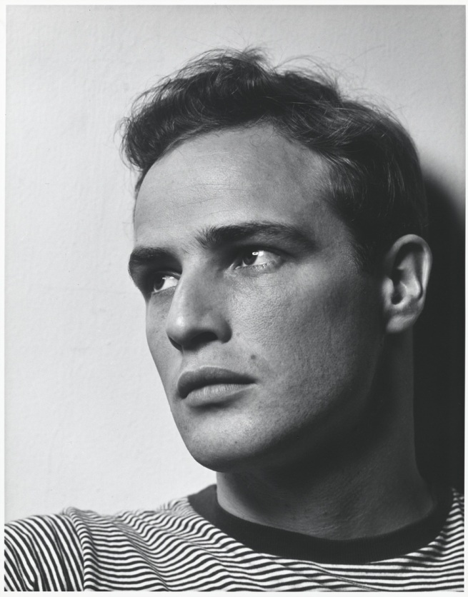 Philippe Halsman. 'Marlon Brando' 1950 (printed later)