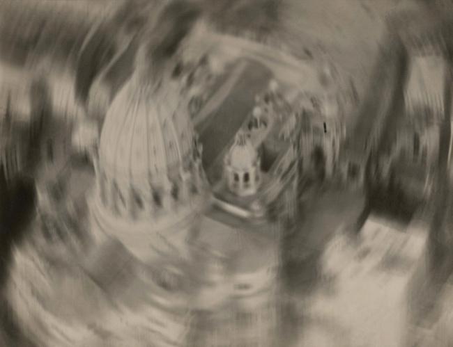 Filippo Masoero. 'Descending over Saint Peter' (Scendendo su San Pietro) c. 1927-37 (possibly 1930-33)