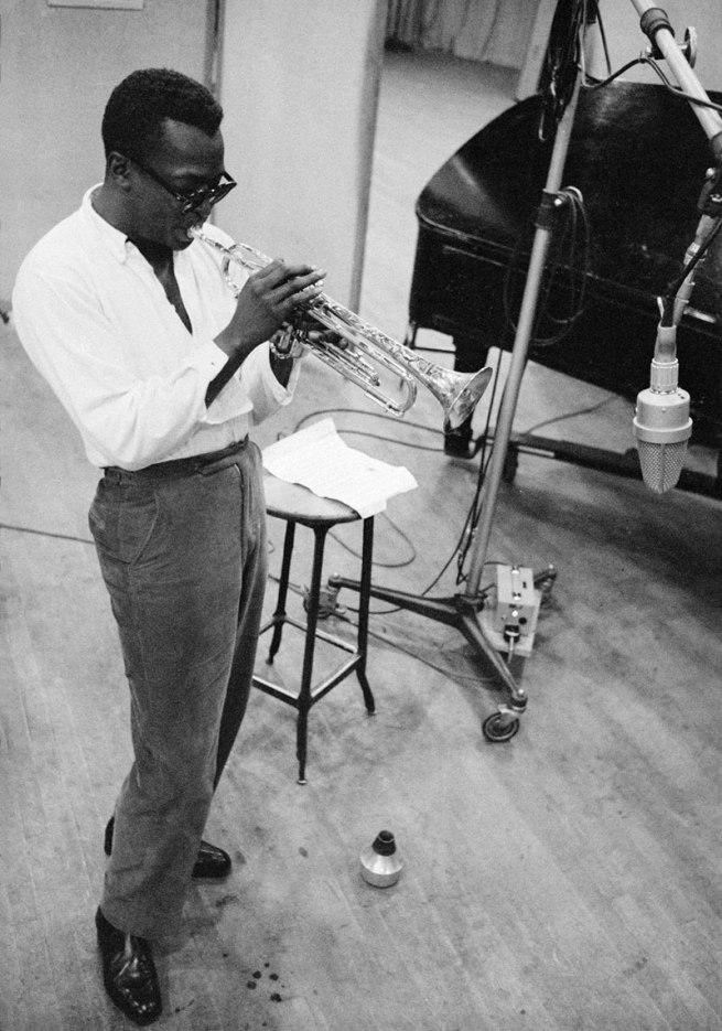 Aram Avakian. 'Miles Davis' 1955 (printed 2012)