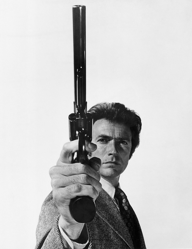Philippe Halsman. 'Clint Eastwood' 1971