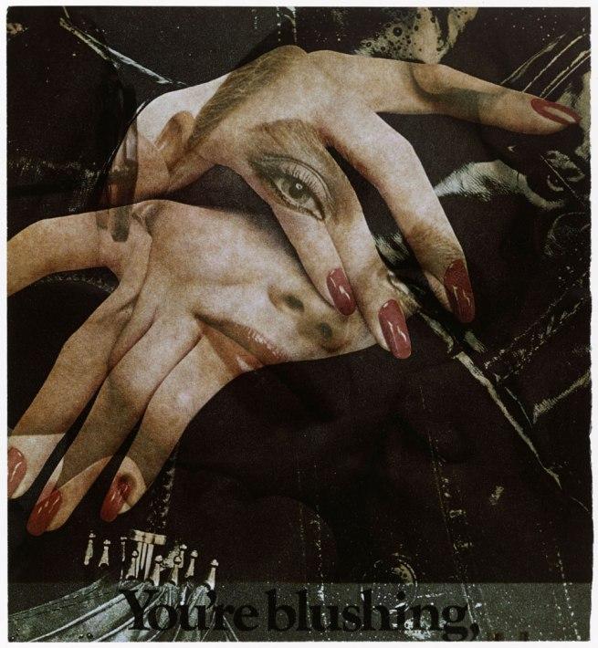 Robert Heinecken (American, 1931-2006) 'Recto/Verso #2' 1988