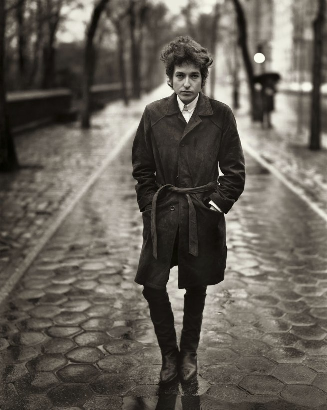 Richard Avedon. 'Bob Dylan, Singer, New York City, February 10, 1965' 1965