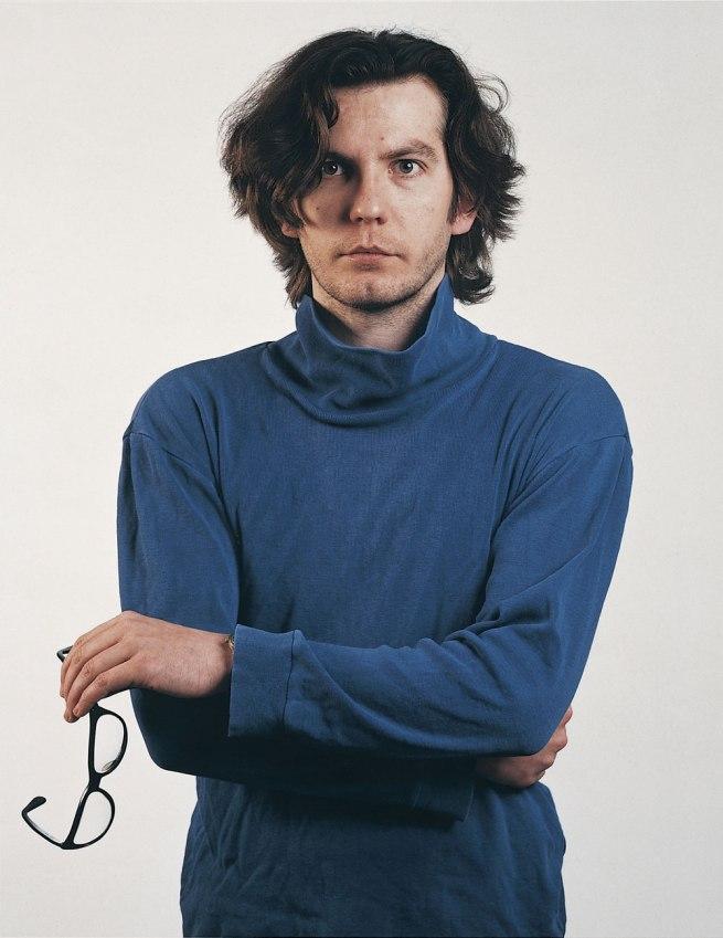 Thomas Ruff. 'Portrait (T. Ruff)' [Selfportrait] 1987