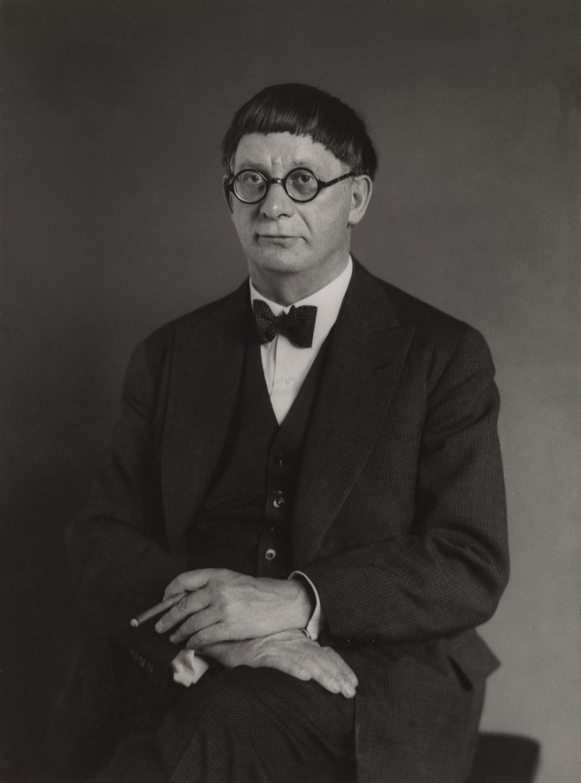 August Sander. 'The Architect [Hans Poelzig]' 1929
