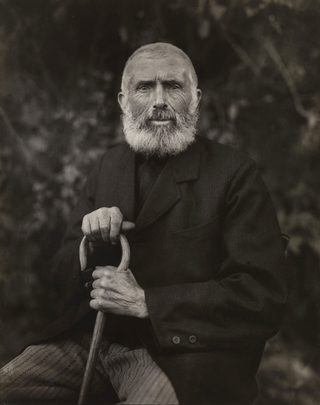 August Sander. 'Der erdgebundene Mensch' [The Earthbound Human] 1910