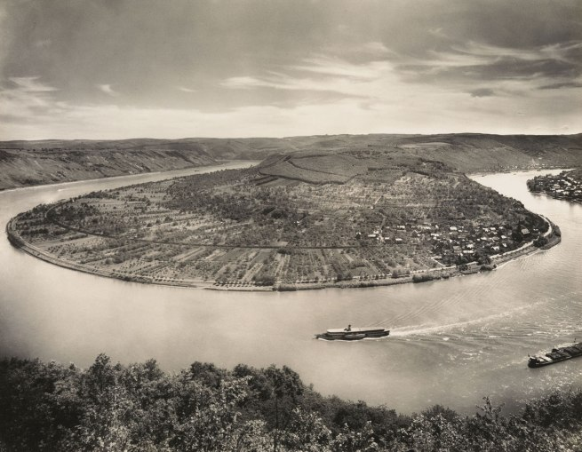 August Sander. 'The Rhine near Boppard, Osterspey' 1938