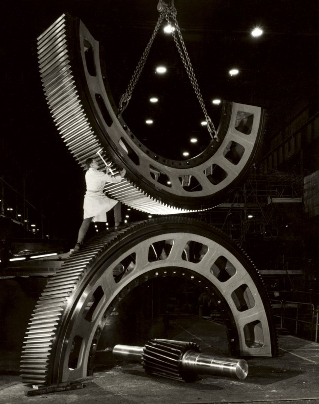 Wolfgang Sievers. 'Gears for the Mining Industry, Vickers Ruwolt, Burnley, Victoria, 1967' 1967