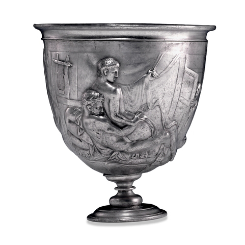 Artist unknown. 'Replica of The Warren Cup' original c. mid-1st century AD