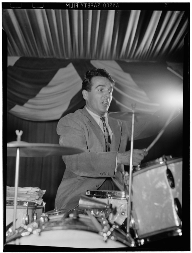 William Paul Gottlieb. 'Gene Krupa at 400 Restaurant, New York City' June 1946