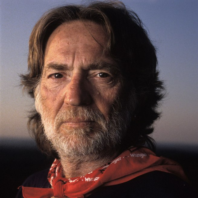 Michael O'Brien. 'Willie Nelson' 1989 (printed 2009)
