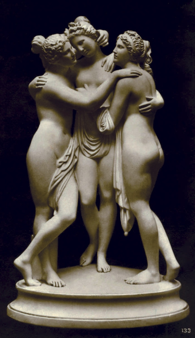 Friedrich O. Wolter. 'Drei Grazien' (Three Graces) Date unknown