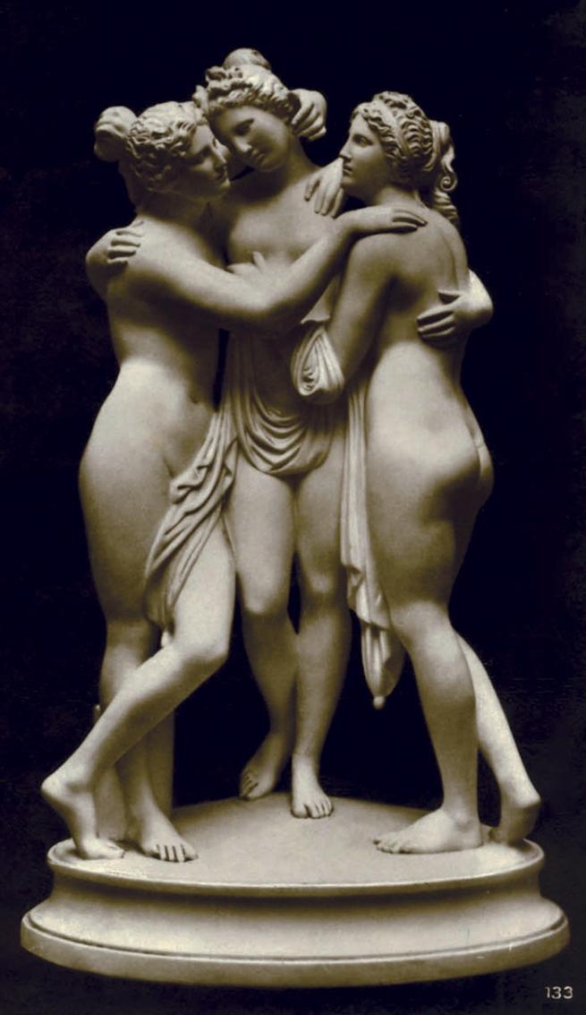 Friedrich O. Wolter. 'Drei Grazien' (Three Graces) Date unknown
