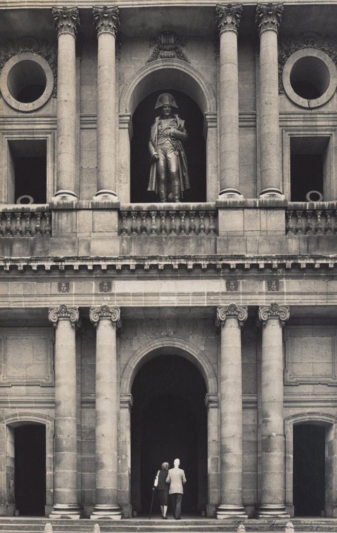 Max Dupain. 'Untitled (Napoleon's statue on the balcony of Les Invalides)' 1978
