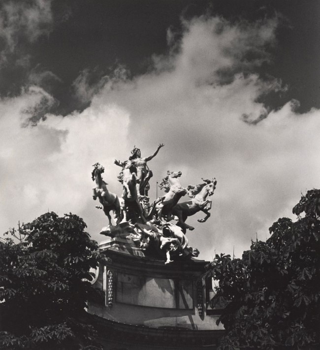 Max Dupain. 'Untitled (mythological sculptural group at the Grand Palais)' 1978