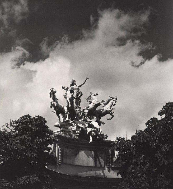 Max Dupain. 'Untitled (mythological sculptural group at the Grand Palais)' 1978