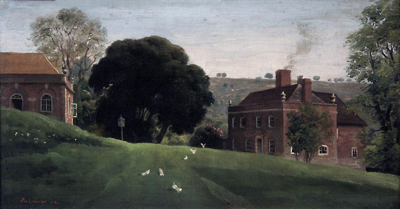 Rex Whistler. 'Ashcombe House' 1930s