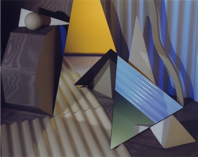 Barbara Kasten (American, born 1936) 'Construct NYC 17' 1984