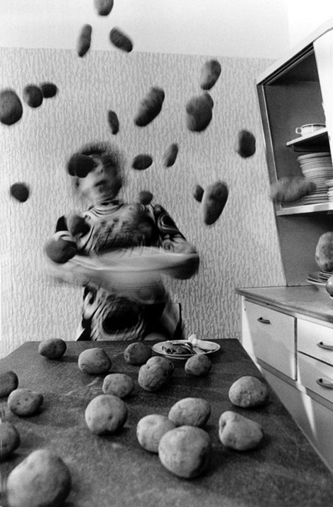 Anna Blume (German, born 1937) Bernhard Blume (German, born 1937) 'Kitchen Frenzy (Küchenkoller)' (detail) 1986