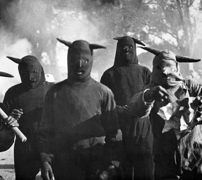 Kati Horna. 'Untitled, Carnaval de Huejotzingo, Puebla' 1941